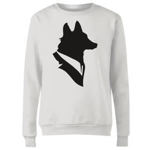 Mr Fox Women's Sweatshirt - White