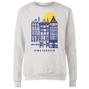 Amsterdam Women's Sweatshirt - White