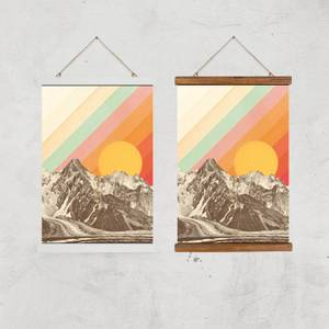 Mountainscape Giclee Art Print