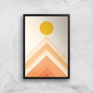 Mountainscape 4 Giclee Art Print