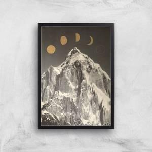 Moon Phases Giclee Art Print