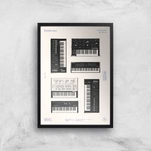 Synthesisers Giclee Art Print