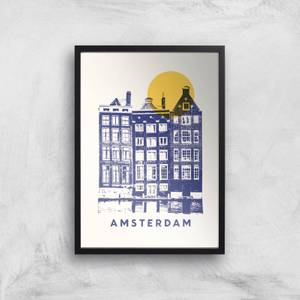 Amsterdam Giclee Art Print