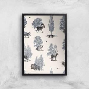 Where They Belong Winter Giclee Art Print