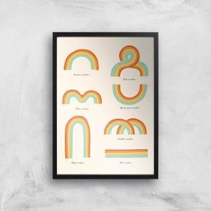 Know Your Rainbow Giclee Art Print