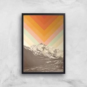 Mountainscape 2 Giclee Art Print