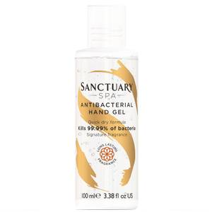 Sanctuary Spa Antibacterial Hand Gel 100ml