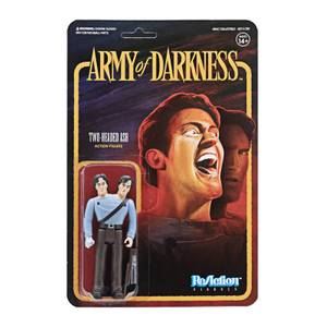 Super7 Army of Darkness ReAction Figure - Two-Headed Ash