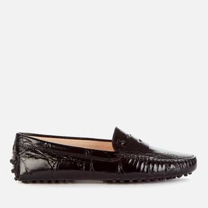 Tod's Women's Gommini Mocassino Driving Shoes - Black