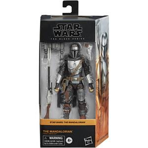 Star Wars The Black Series, figurine articulée Le Mandalorien à collectionner