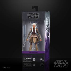 Star Wars The Black Series, figurine de collection Ahsoka Tano