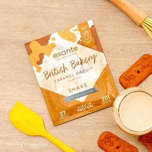 Meal Replacement Caramel Biscuit Shake