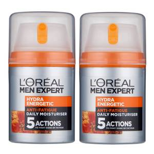 L'Oréal Paris Men Expert Exclusive Double Power Hydra Energetic Face Cream Bundle