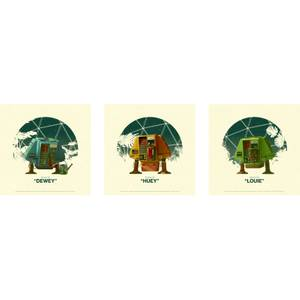 Silent Running Giclee (Set of 3) by Matt Ferguson