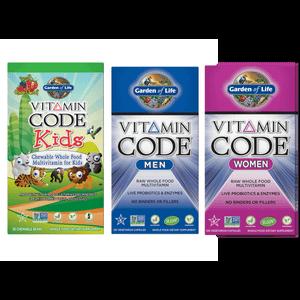 Pack Vitamine Code - Famille