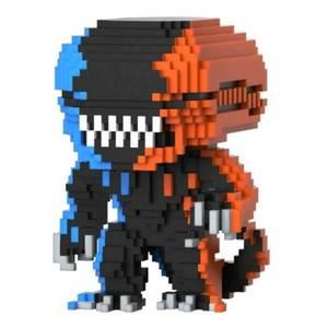Alien Xenomorph OR/BU 8-Bit EXC Figura Pop! Vinyl
