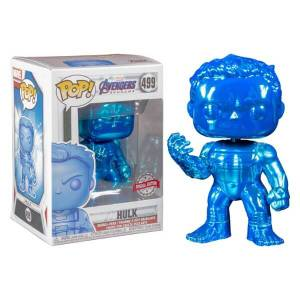 Marvel Avengers: Engame Blue Chrome Hulk EXC Funko Pop! Vinyl