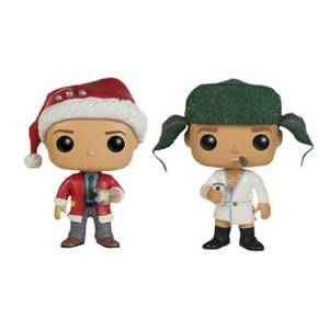 Christmas Vacation Clark & Ed EXC Pop! 2-Pack