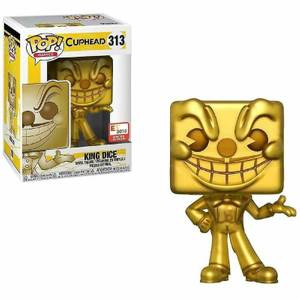 Cuphead King Dice Gold E3 2018 EXC Funko Pop! Vinyl