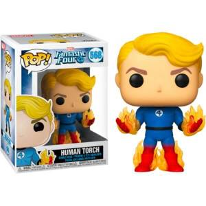 Fantastic 4 Human Torch with Flames EXC Funko Pop! Vinyl
