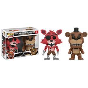 Five Nights at Freddys Freddy & Foxy EXC 2-Pack Funko Pop! Vinyl