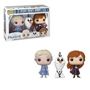 Disney Frozen 2 Elsa, Olaf & Anna EXC Pop! 3-Pack