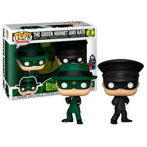 Green Hornet and Kato NYCC 2019 EXC 2-Pack Pop! Vinyl Figures