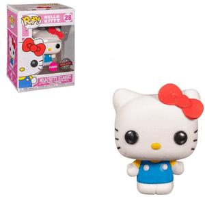 Hello Kitty Flocked EXC Figura Pop! Vinyl