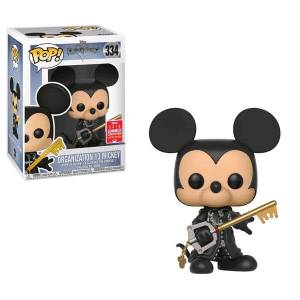 Disney Kingdom Hearts Mickey Unhooded SDCC 2018 EXC Pop! Vinyl Figure