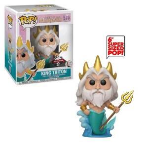 Disney Little Mermaid King Triton 6-Inch EXC Pop! Vinyl Figure