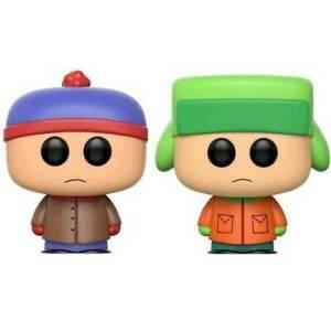 South Park Stan & Kyle 2-Pack EXC Figura Pop! Vinyl