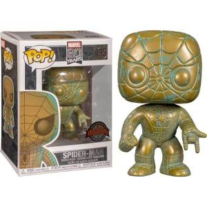 Marvel 80th Spider-Man Patina EXC Pop! Vinyl Figure