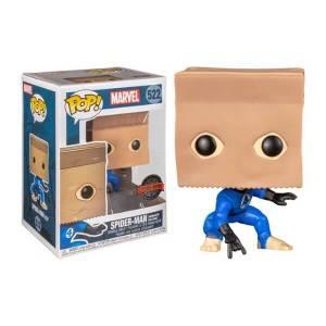 Spider-Man Bombastic Bag-Man Marvel EXC Pop! Vinyl Figur