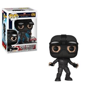 Marvel Spider-Man Far From Home Stealth Suit Goggles Up EXC Figura Pop! Vinyl
