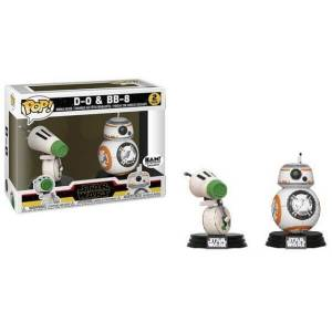 Star Wars: Rise Of Skywalker BB-8 & D-0 EXC 2-Pack Figura Pop! Vinyls