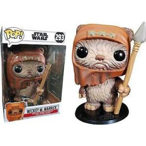 "Star Wars - Wicket 10"" EXC Funko Pop! Vinyl"