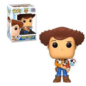 Toy Story 4 - Woody With Forky EXC Funko Pop! Vinyl