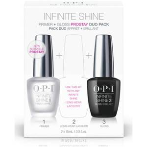 OPI Nail Base and Top Coat Duo Pack Infinite Shine Long-Wear System 1st and 3rd Step 2 x 15ml