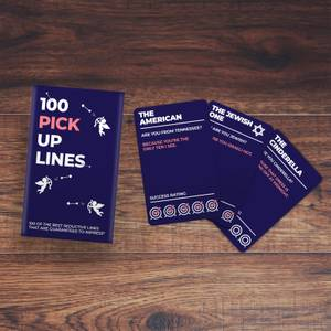 100 Pick Up Line Cards