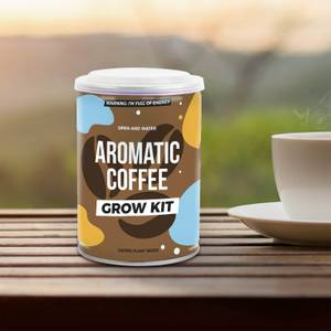 Aromatic Coffee Grow Tin