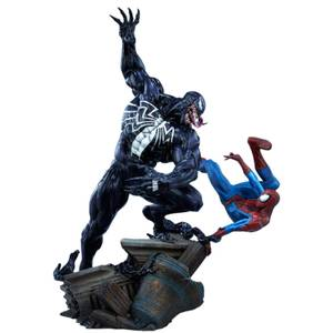 Statuette Spider-Man vs Venom Marvel - 56cm Sideshow Collectibles