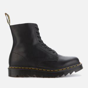 Dr. Martens Men's 1460 Pascal Ziggy Leather 8-Eye Boots - Black