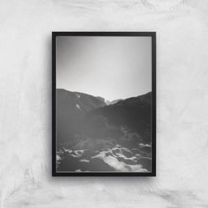 Simplistic Yosemite Giclee Art Print