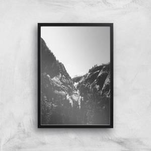 Yosemite Valley Giclee Art Print