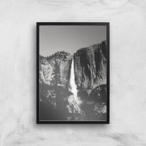 Yosemite Waterfall Giclee Art Print
