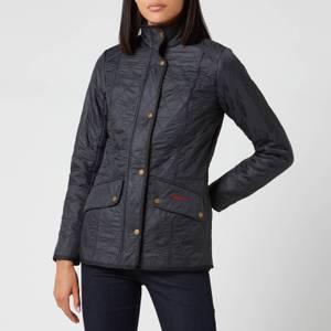 Barbour Women's Cavalry Polarquilt Jacket - Navy