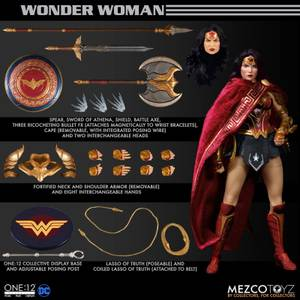 Mezco One:12 Collective DC Comics Wonder Woman Action Figure