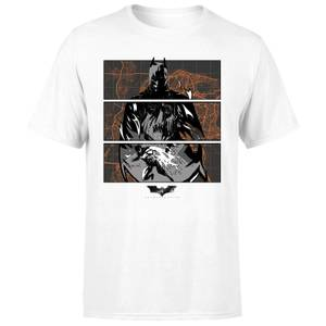 T-Shirt Batman Begins Gotham City Defender - Bianco - Uomo