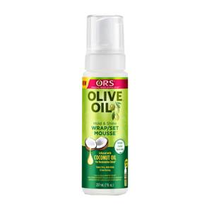 ORS Olive Oil Wrap/Set Mousse 207ml