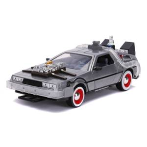 Jada Die Cast Back to the Future Part III Time Machine with Working Lights